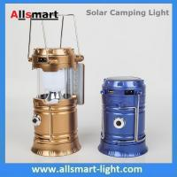 Solar USB Port Recharger Tent Lamp With Desk Reading Lamp Table Lantern  LED Camping Light Tensile Lantern Flashlight Manufactures