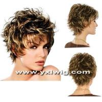 China Lady Short Wig Hair on sale