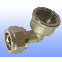 compression brass fitting female elbow for PEX-AL-PEX Manufactures