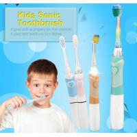 ABS/ TPE Nylon Bristle Toothbrush , 1 X AAA Battery Childrens Battery Toothbrush Manufactures