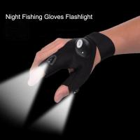 Gloves with LED Light Hunting Outdoor Fingerless Fishing Camping Hiking Survival Manufactures