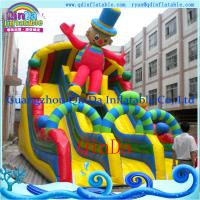 Inflatable Water Slide Toy for Water Game Park Giant Inflatable Water Pool Slide for sale Manufactures