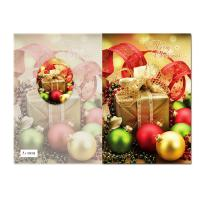 Fashion creative Plastic 3D greeting cards for christmas gifts Manufactures