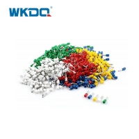 VE6012 6.0mm² Tubular Crimping Ferrules Terminal Cord Durable Nylon Nickle Plated Connector Manufactures