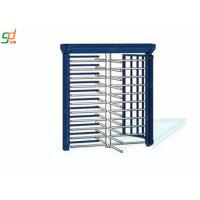 Entrance Security Full Height Turnstiles Revolving Gate Automatic Barrier Manufactures