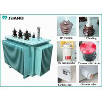 1.25KW 80KVA Oil Immersed High Voltage Power Transformers For Mining Manufactures