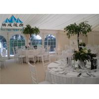 300 People Large Wedding Event Tents Fire Proof With Tables And Chairs Manufactures