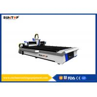 Stainless Steel CNC Laser Cutting Equipment With Laser Power 800W Manufactures