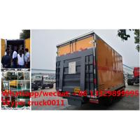 Quality Dongfeng LHD 4*2 gas cylinder transportation truck for sale, best price dongfeng for sale