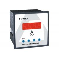 AC DC Single Phase Digital Panel Meter , Ampere Meter with LCD Display Manufactures