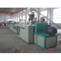 China Best! Wpc Profile Double Screw Extruder/ Wood Plastic Production Line/ on sale
