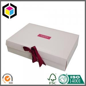 Matte Color Offset Printing Carton Box; Lid Ribbon Cardboard Paper Box Manufactures