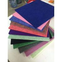 Buy cheap 4.2kg Polyester Fiber Sound Acoustic Panel / Soundproof Panels For Walls from wholesalers