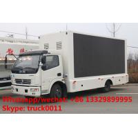 DONGFENG duolika 4*2 LHD/RHD mobile billboard LED advertising vehicle for sale, hot sale dongfeng P6/P8 LED truck Manufactures
