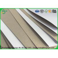 Packaging Box Coated Duplex Board Grey Back 350gsm 300gsm In Sheet / Roll Manufactures