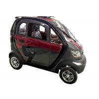 China 240Kg Economic Electric Cars , 60V1200W Motor Steering Wheel Automatic Electric Car on sale