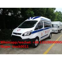 2017 best seller  Euro 5 diesel emergency ambulance bus for sale, factory sale best price ICU ambulance vehicle Manufactures