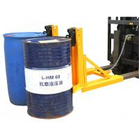 Quality 720Kg Load Drum Clamp Attachment With 600-750mm Adjusting Height for sale