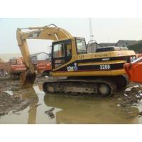 CAT 320B Used Crawler Excavator 0.92cbm Bucket , Used Mini Trackhoes Durable  Manufactures