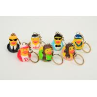 Quality Promotion Mini Keychain duck with style of singer ducks and stars ducks for sale