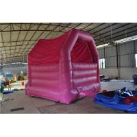 Mini Pink Inflatable Sports Games Of Inflatable Bouncer Customized Manufactures