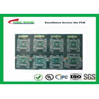 """Professional Quick Turn PCB Prototypes FR-4 4.5MM Board Thickness Gold 50u"""" Manufactures"""
