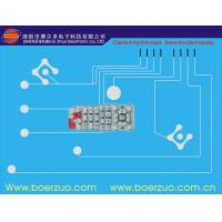 UV proof Polycarbonate Metal Dome Tactile Membrane Switch For Electronic Manufactures