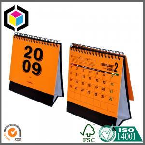 Full Color Print Calendar Printing Service; Spiral Custom Design Calendar Print Manufactures