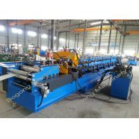China Hot Dip Steel Coil Metal Z Purlin Roll Forming Machine High Load Capacity on sale
