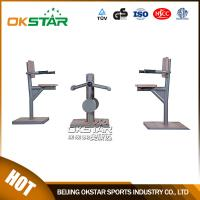 fitness equipment for elderly outdoor wood chair leg stretcher leg exercise machine for old people Manufactures