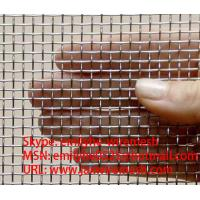 aluminium alloy wire mesh/window screen (20 years factory) Manufactures