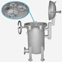 BOCIN Stainless / Carbon Steel Bag Filter Housing , Quick Open Multi-bag Filter INOCO BF Serial Manufactures