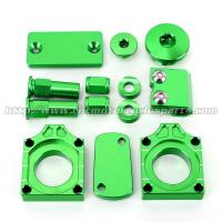 Quality Kawasaki KXF 250 Parts With Oil Filler Cap And Brake Line Clamps for sale