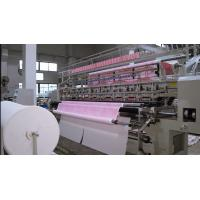 3.2 Meters Computerized Quilting Machine , Double Needle Industrial Sewing Machine Manufactures
