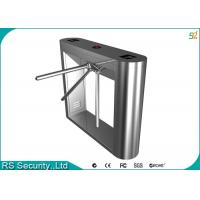 Electric Appearance Waist Height Turnstiles Barrier Gate For Door Access System Manufactures