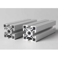 T-slot aluminum extrusion profiles Steel Polished Suface Treatment / For Conveyor Manufactures