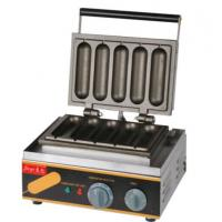 Electric Hot Dog Waffle Machine For Snack Bar Manufactures