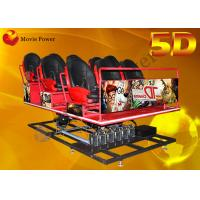 Popular Electric 5D Movie Theater 5D Driving Simulator 2-100 Seats Manufactures
