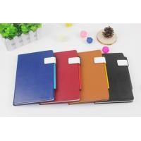 Business notebook with pen holder(smooth cover) Manufactures