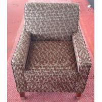 Hotel fabric lounge chair with ottoman ,single sofa LC-0009 Manufactures