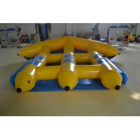 Durable PVC Inflatable Boat , Water Park Inflatable Fishing Boat Manufactures