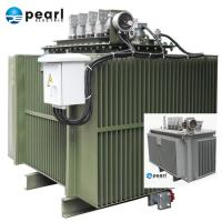 Compact Size Oil Immersed Transformer 6.6 kV - 1250 kVA Eco Friendly Three Phase Manufactures