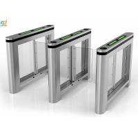 RS Security Swing Barrier Gate Card Access Turnstile Gate With Servo Motor Manufactures