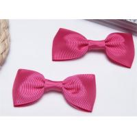 High End Bow Tie Ribbon , Hair Elastic Bands Home Textile Purple Manufactures