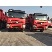 Professional Heavy Duty Dump Truck ZF8098 GERMANY Steering Two Sleepers Sinotruck Howo Manufactures