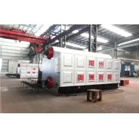 Water heated 8 Ton Coal Fired Steam Boiler Of High Pressure 1.25Mpa - 2.45Mpa Manufactures