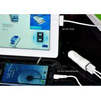 5V 2.1A  Automatic Car Charger Double Output For Tablets , DC12-24Vdc Manufactures