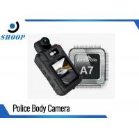 Infrared HD Night Vision Body Camera , Small Police Body Worn Cameras Manufactures
