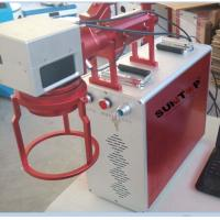 Hand Held Portable Fiber Laser Marking Machine For Meta Products Processing 20w Manufactures