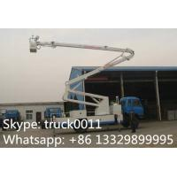 hot sale dongfeng 153 190hp 18m-22m aerial working platform truck, dongfeng RHD 4*2 20m high altitude operation truck Manufactures